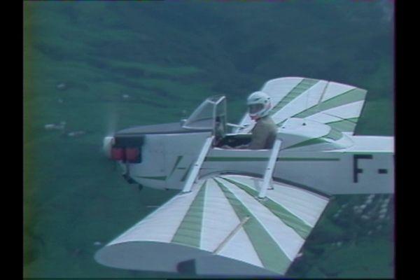 Premier avion construit par les frères Hoarau