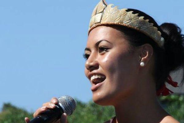 Janine Tuivati, miss Pacifique sud 2013