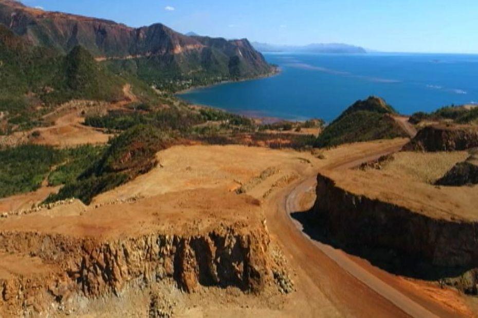 Un minéralier japonais inquiète les habitants de Houaïlou - Nouvelle-Calédonie la 1ère