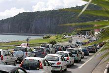 Des embouteillages sur la route du littoral, au niveau de la Possession. (Image d'illustration).