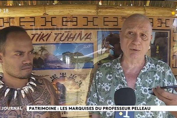 Iakopo Pelleau : les Marquises dans la peau