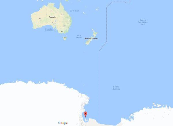 Antarctique : mer de Ross