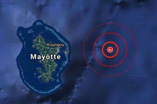 Seisme Mayotte