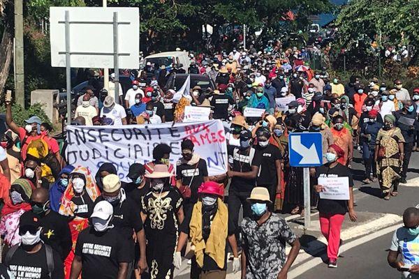 manifestation contre la délinquance