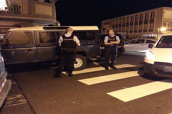 gendarmes mobilisés
