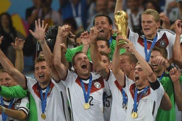 Les allemands, champions du monde