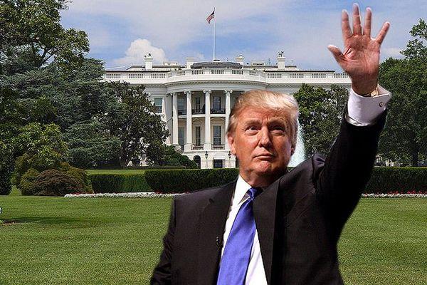 Donald Trump président des Etats Unis d'Amérique
