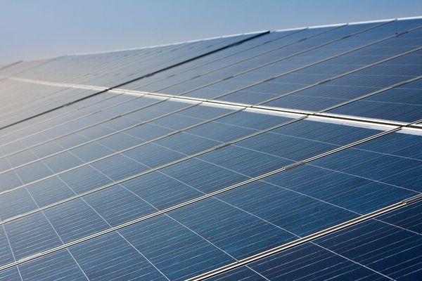 Panneaux photovoltaïques. Energie solaire