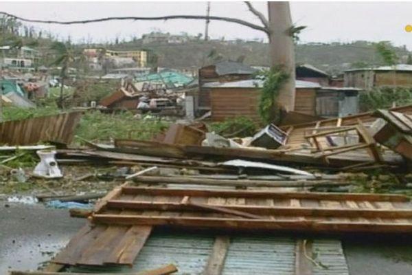 Le quartier de Boissard détruit par Hugo.