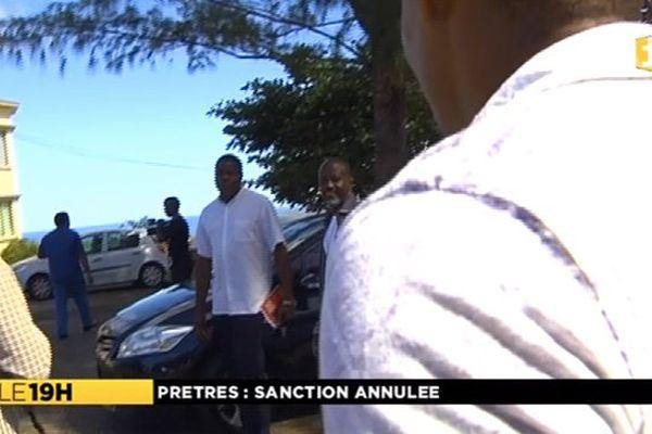 Prêtres : sanction annulée
