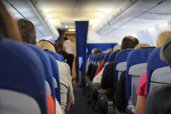Passagers avions