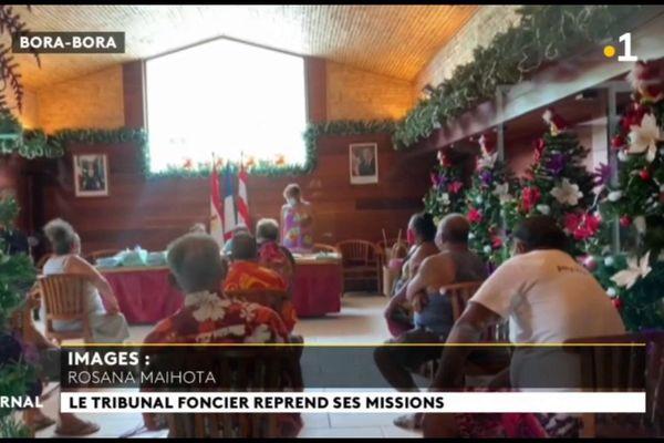 Le tribunal forain en tournée à Bora Bora