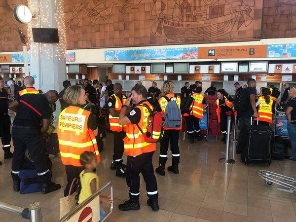 Cyclone Belna Mayotte 36 pompiers partent en renfort 071219