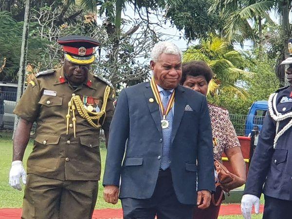 Bob Loughman, premier ministre du Vanuatu