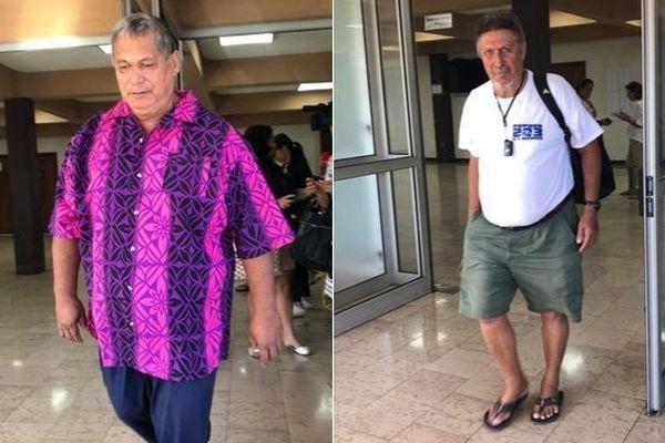 Charles Villiermes et Putai Taae