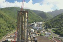 L'ancienne centrale EDF de Bellefontaine est en déconstruction. Un travail entamé depuis la mise en service de la nouvelle centrale en 2014