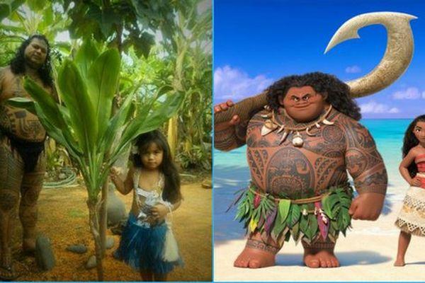 On a retrouvé le vrai Maui et la vraie Vaiana !