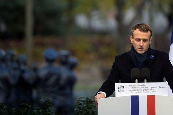 Macron Parc André Citroën