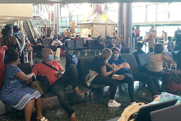 passagers du vol air austral