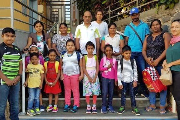 La rentrée des classes des petits Sri-Lankais