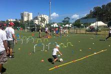 Cette année, les activités se sont concentrées sur les installations sportives de Magenta.
