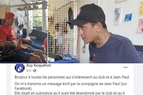 Rugbyman tétraplégique, Jean Paul Taipunu s'exprime