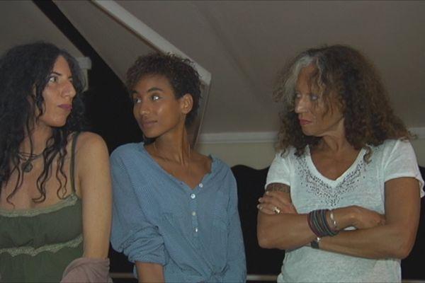Mariejosée Alie Monthieux et ses filles