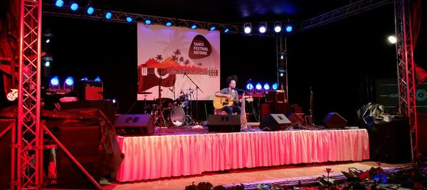 Tahiti Festival Guitare 2015 Frank
