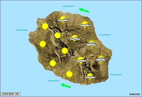 Carte météo 22 04 2020