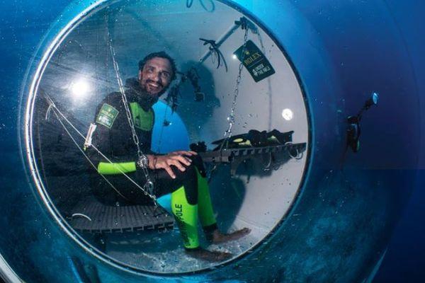 la capsule sous marine d'under the pole