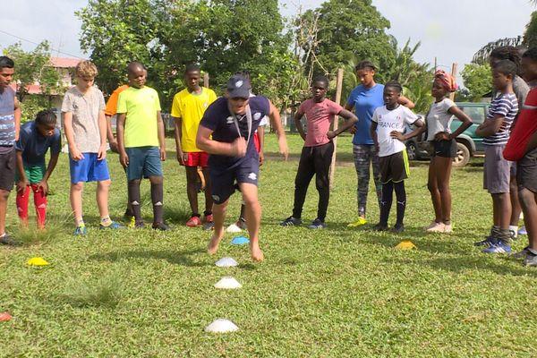 Détection de jeunes rugbymen