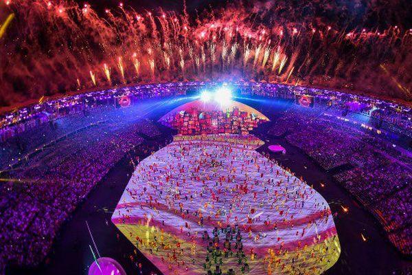 ceremonie ouverture Rio