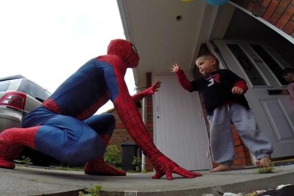 Spiderman maladie