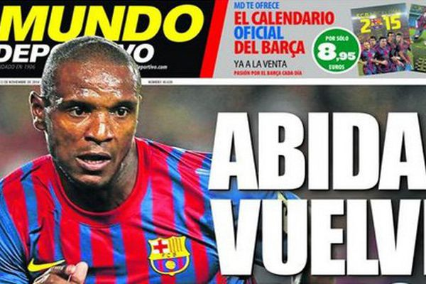 Abidal au Barça