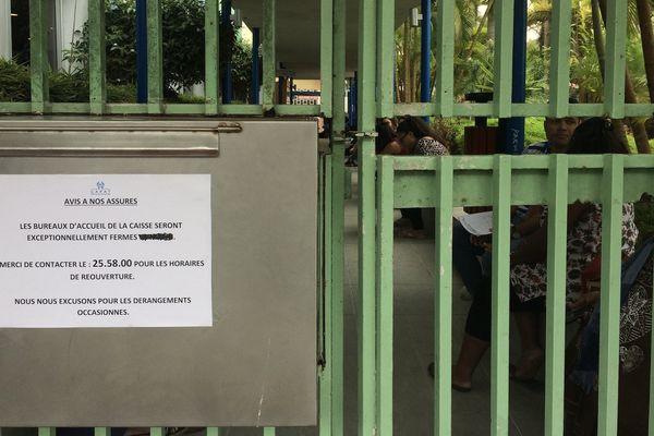 Cafat : grève du personnel