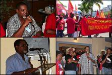 Patrick Doré, secrétaire général du syndicat UGTM (Union Générale des Travailleurs de Martinique).