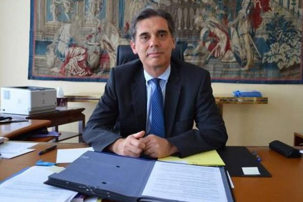 Dominique Sorain, nouveau préfet
