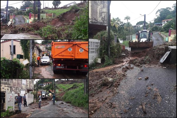 dégâts pluies Trinité