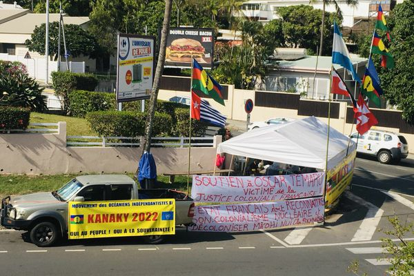 Soutien indépendantistes Temaru