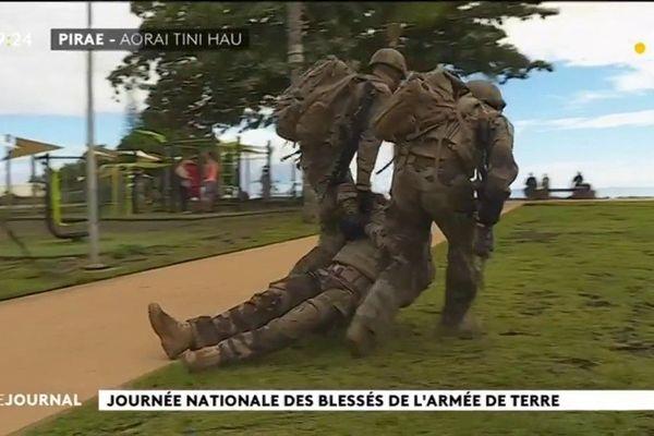La Journée des  soldat blessés à l'étranger célébrée aussi en Polynésie
