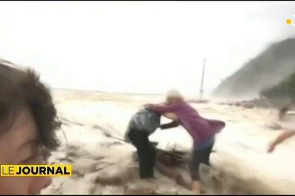 Pacifique : La tempête Fehi provoque de gros dégât en Nouvelle-Zélande.