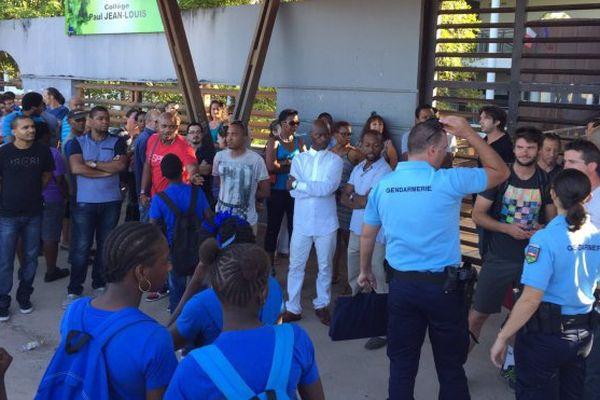 St-Laurent du Maroni : des enseignants en grève suite à l'agression d'un collègue