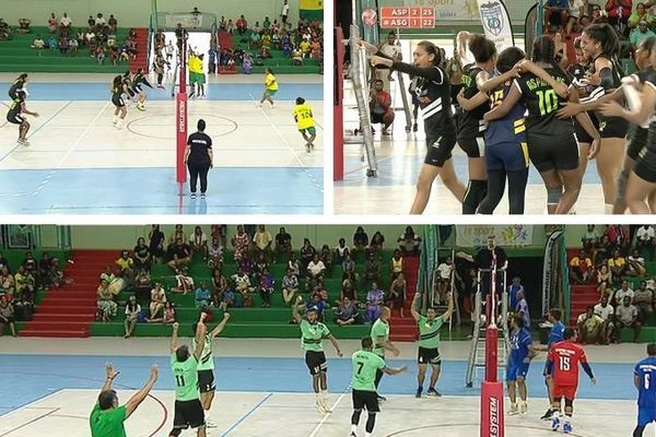 Finales NC de volley, novembre 2020