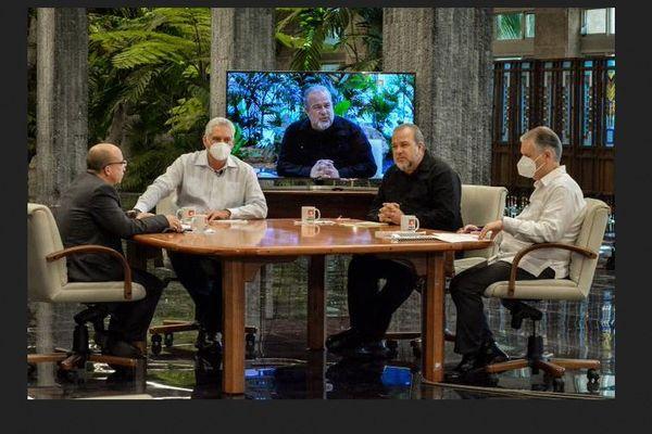 Cuba table ronde president/Premier ministre