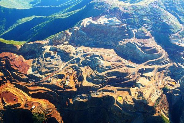 Mine de nickel en Nouvelle-Calédonie