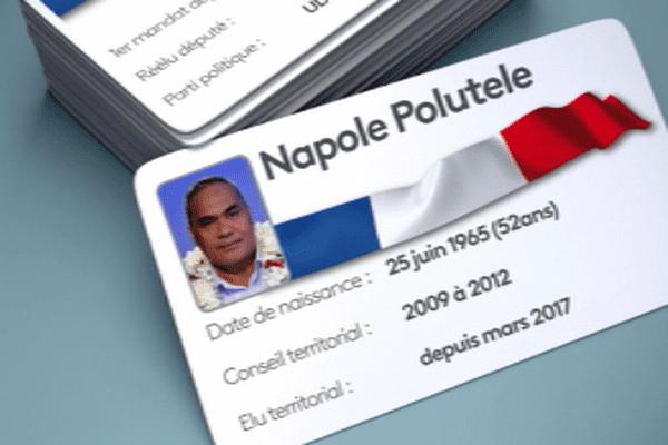 carte d'identité polique de Napole Polutele