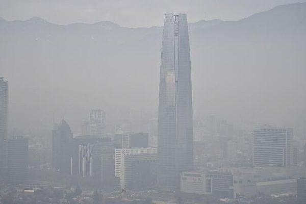 Pollution à Santiago