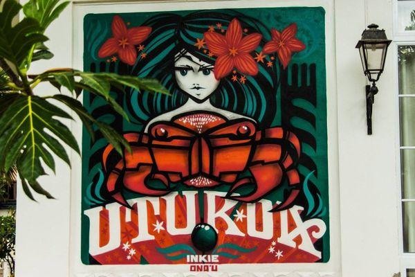 Graffiti Inkie Raiatea