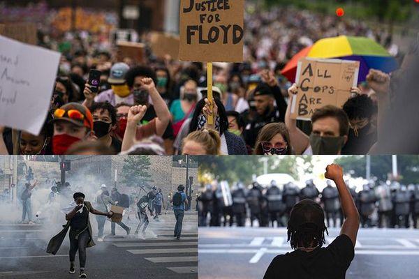 Manifestation Georges Floyd