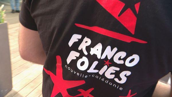 T-shirt Francofolies NC